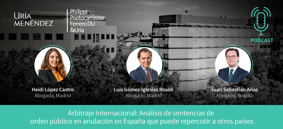 Arbitraje internacional: análisis de sentencias de orden público en anulación en España que puede repercutir a otros países