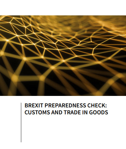 Brexit preparedness check: customs and trade in goods